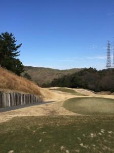 大宝塚ゴルフクラブ芦屋8番