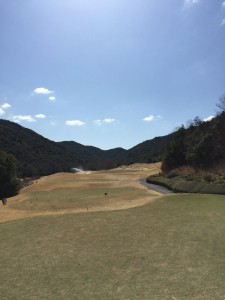 ゴールデンバレーゴルフ倶楽部IN10番