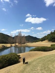 ゴールデンバレーゴルフ倶楽部IN16番