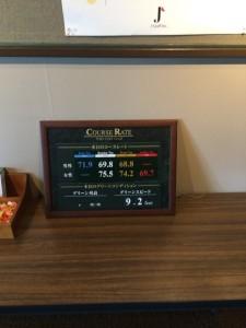東条ゴルフ倶楽部コンディション