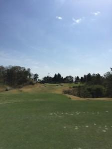 花屋敷ゴルフ倶楽部よかわコースIN12番