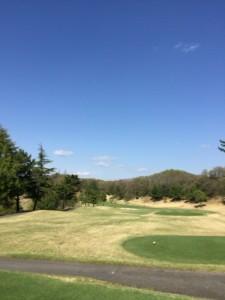 花屋敷ゴルフ倶楽部よかわコースIN14番