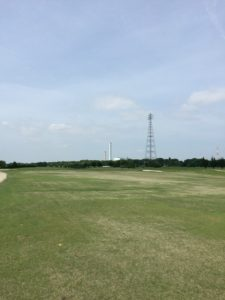 牧野パークゴルフ場_OUT1番セカンド地点