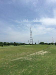 牧野パークゴルフ場_OUT8番セカンド地点