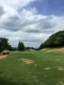 アークよかわゴルフ倶楽部01_OUT4番