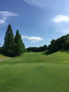 アークよかわゴルフ倶楽部01_OUT8番